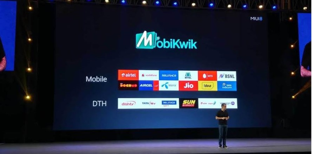 Xiaomi and MobiKwik partnership announcement
