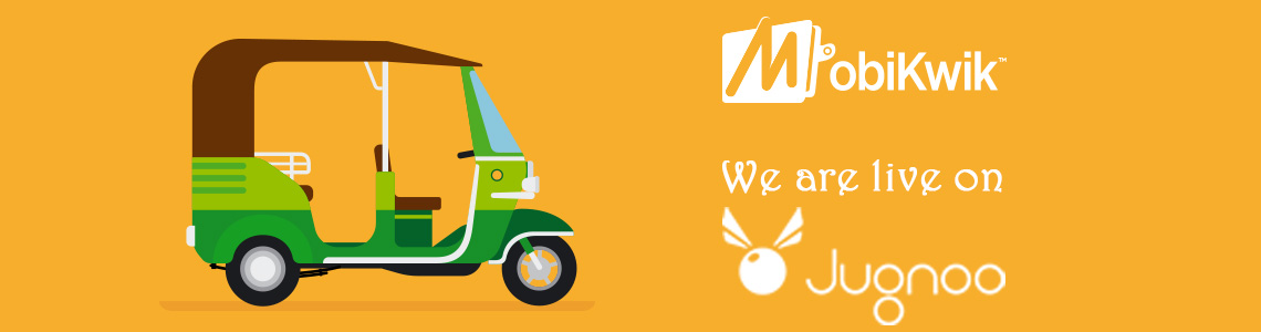 MobiKwik partners with Jugnoo