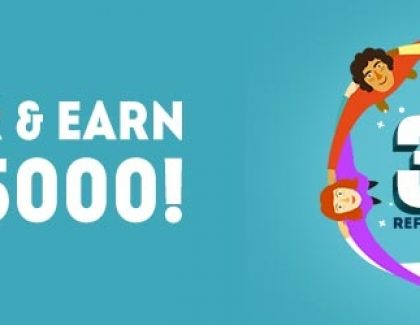 3 easy steps to earn up to Rs.20000 by referral(Limited Period Offer)