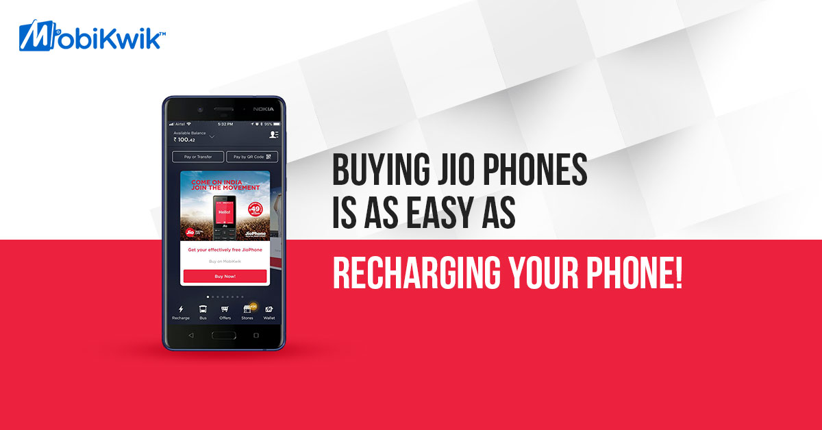 Buying Jio Phones is as easy as recharging your phone